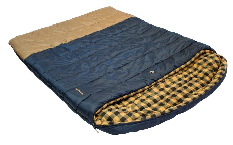 Ledge Sports Alaska 0 F Degree King Size Double Wide Sleeping Bag 96 X 72