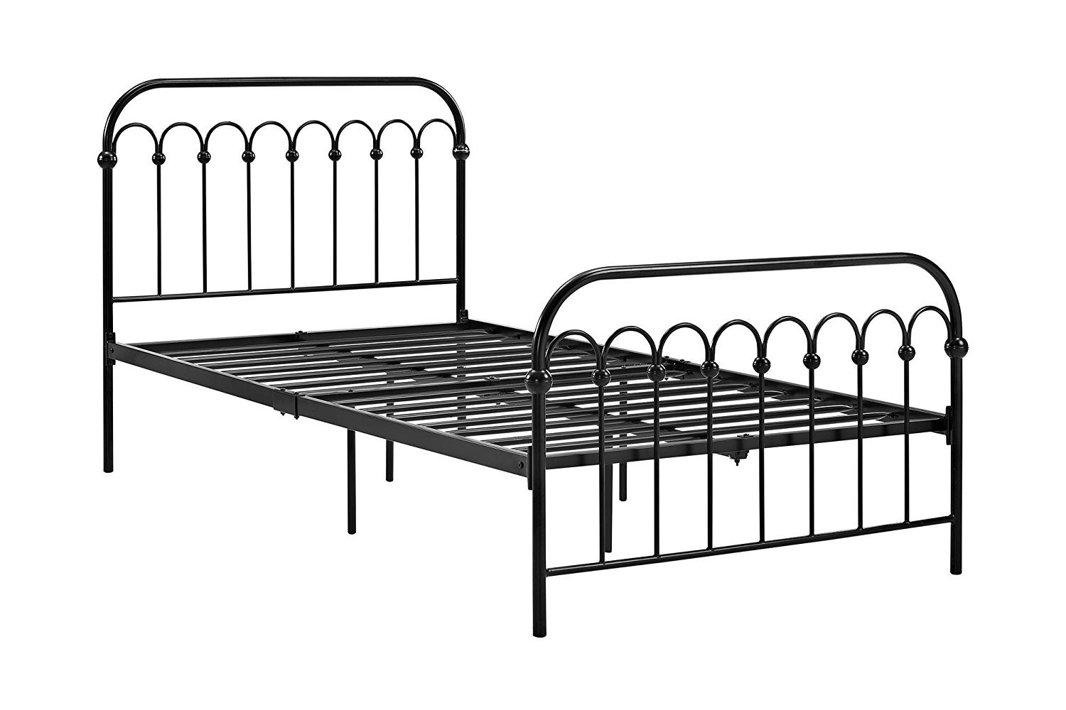 Novogratz Bright Pop Metal Bed Twin Size Sy Frame