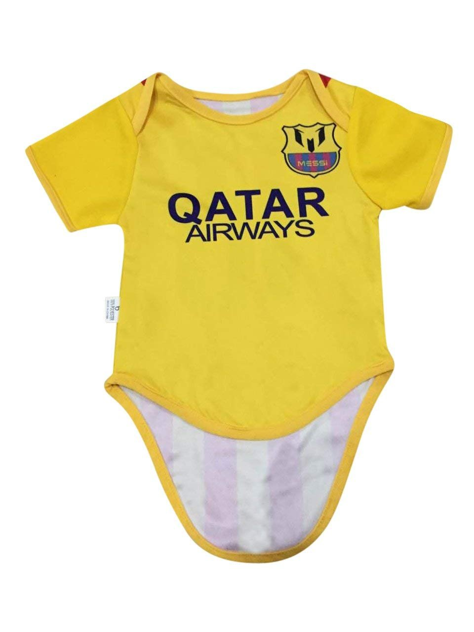 231196e8f72 Leo Messi #10 Barcelona Soccer Jersey Baby Infant & Toddler Rompers Body  2-Pack