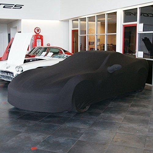 ZR1 Dark Red//Black Grand Sport Corvette Ultraguard Stretch Satin Indoor Car Cover : Sport Series Z06 2005-2013 C6