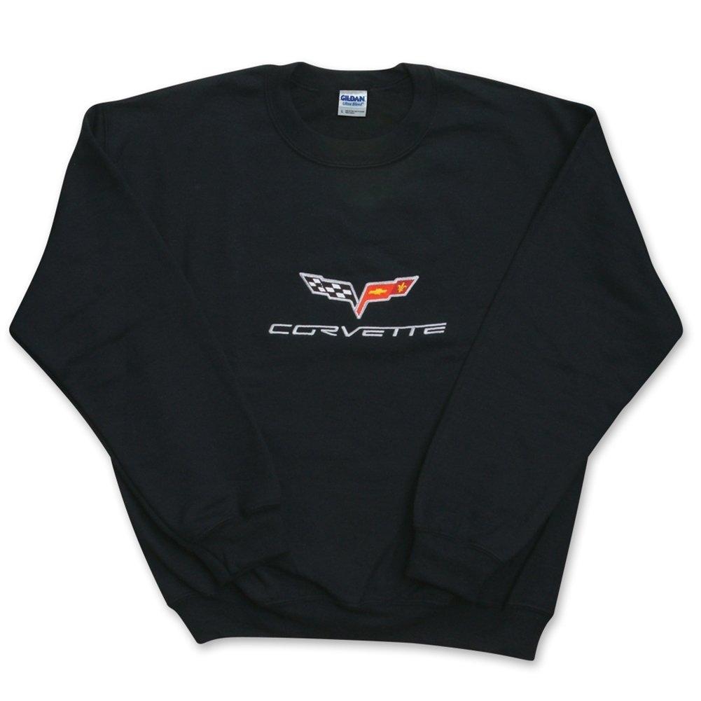 West Coast Corvette Charcoal Camaro C7 Corvette Logo Flag T-Shirt