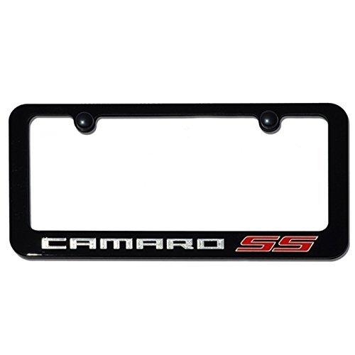 Camaro Ss Exterior Color License Frame Ebay