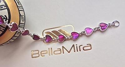 BellaMira-Abalone-Paua-Shell-Bracelet-Bangle-Earrings-Jewellery-Gift-Boxed thumbnail 25