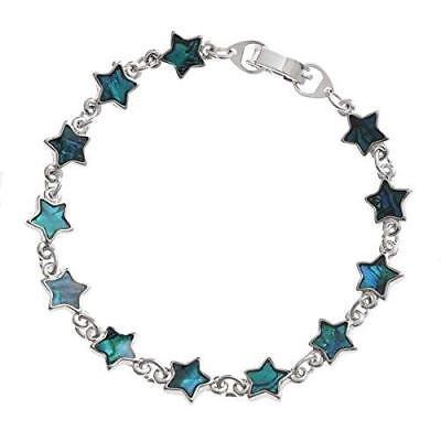 BellaMira-Abalone-Paua-Shell-Bracelet-Bangle-Earrings-Jewellery-Gift-Boxed thumbnail 8