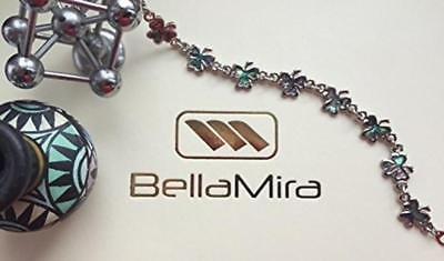 BellaMira-Abalone-Paua-Shell-Bracelet-Bangle-Earrings-Jewellery-Gift-Boxed thumbnail 16