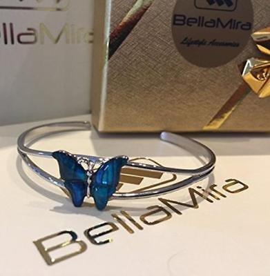BellaMira-Abalone-Paua-Shell-Bracelet-Bangle-Earrings-Jewellery-Gift-Boxed thumbnail 5