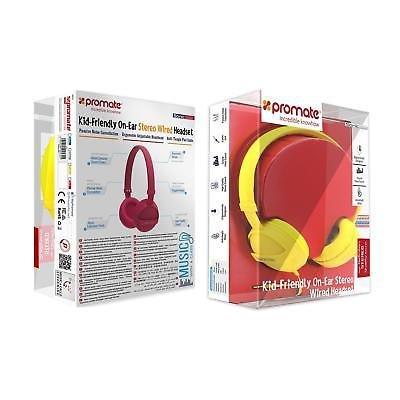 Stereo-Headphones-Volume-Limit-Headband-Noise-Cancellation-Girls-Boys-Blue-Pink thumbnail 12