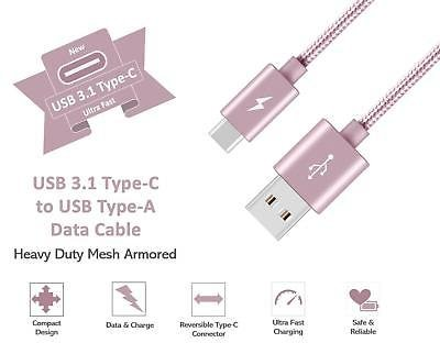 Type-C-USB-C-Sync-Charger-Charging-Cable-for-Samsung-Galaxy-A5-S9-S9-S8-Plus thumbnail 10