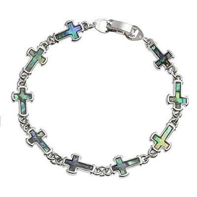 BellaMira-Abalone-Paua-Shell-Bracelet-Bangle-Earrings-Jewellery-Gift-Boxed thumbnail 11