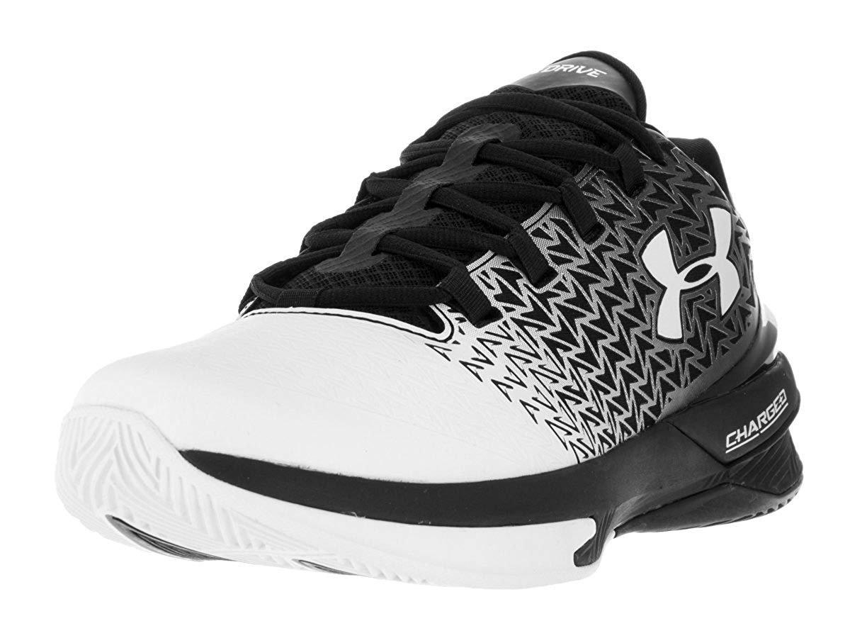 fc2a0644c264 Black Under Armour Men s UA ClutchFit Drive 3 Low Basketball Shoes ...