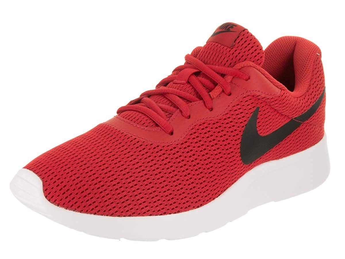 97d0ab3cb648 Image is loading University-Red-Black-Nike-Men-039-s-Tanjun-
