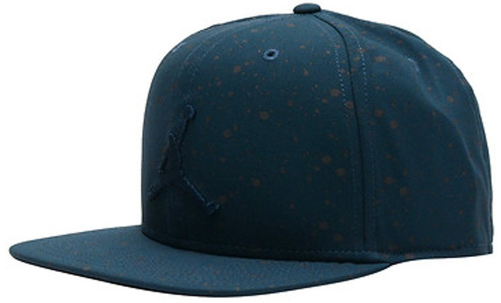 643032eaa7f ... promo code for nike mens jordan speckle print snapback hat 821830 010  dark blue 454 cc656