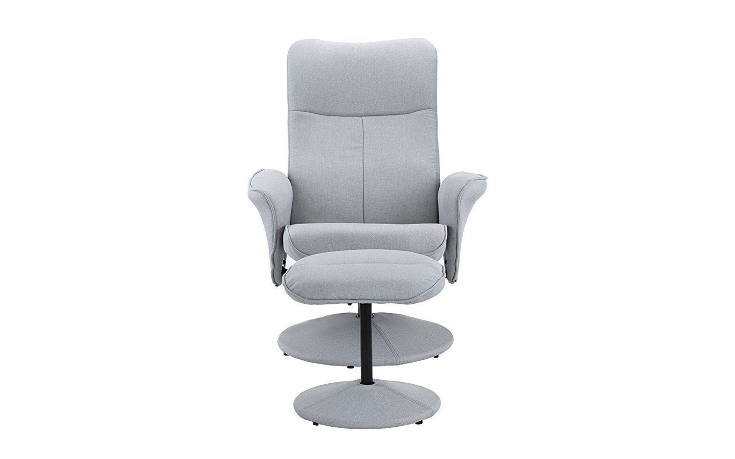 Sensational Details About Fabric Modern Swivel Office Chair Gaming Chair With Recliner And Footstool Gmtry Best Dining Table And Chair Ideas Images Gmtryco