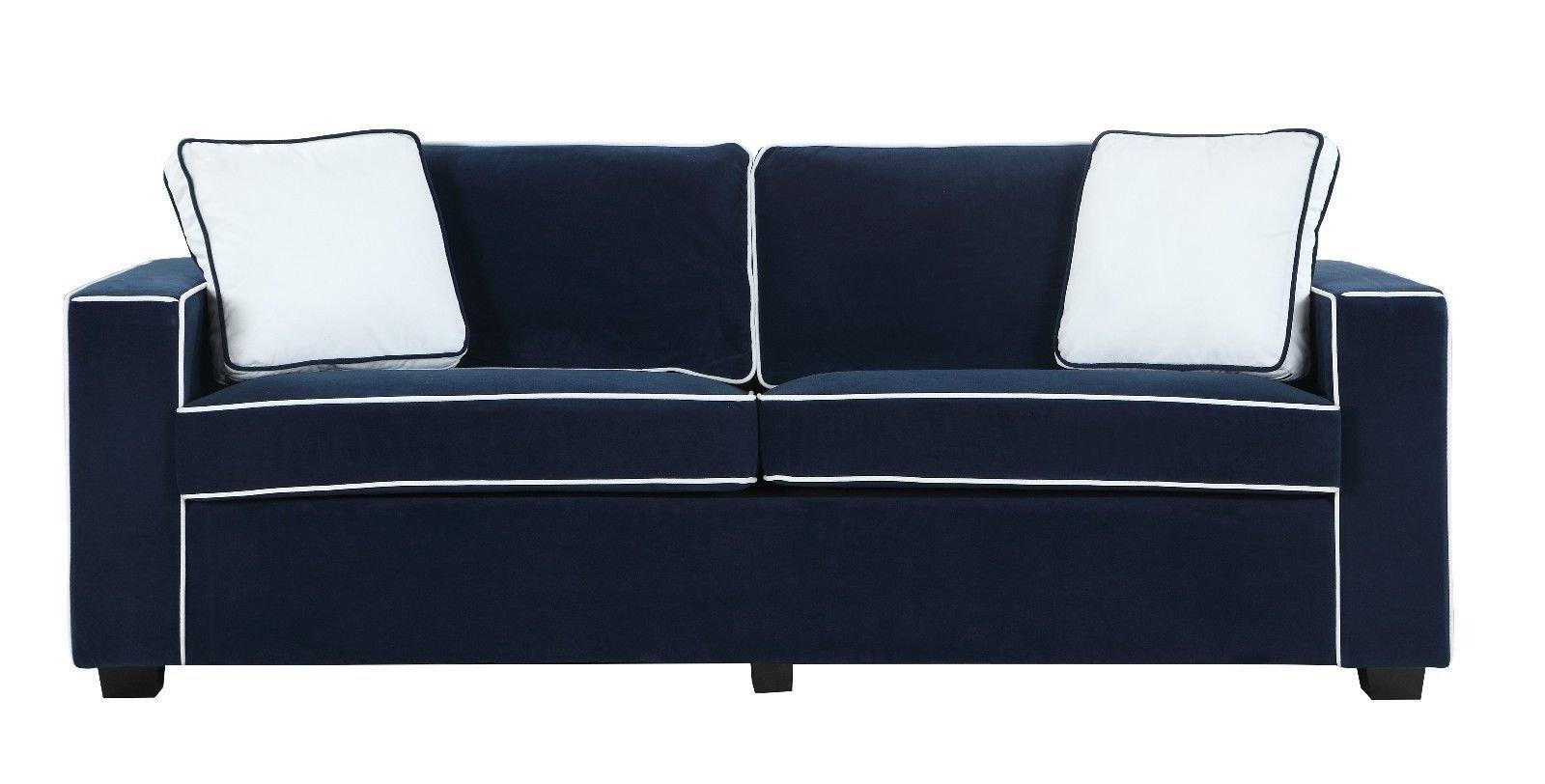 Brilliant Dos Tonos Modernos Colorido Tejido De Terciopelo Salon Sofa Caraccident5 Cool Chair Designs And Ideas Caraccident5Info