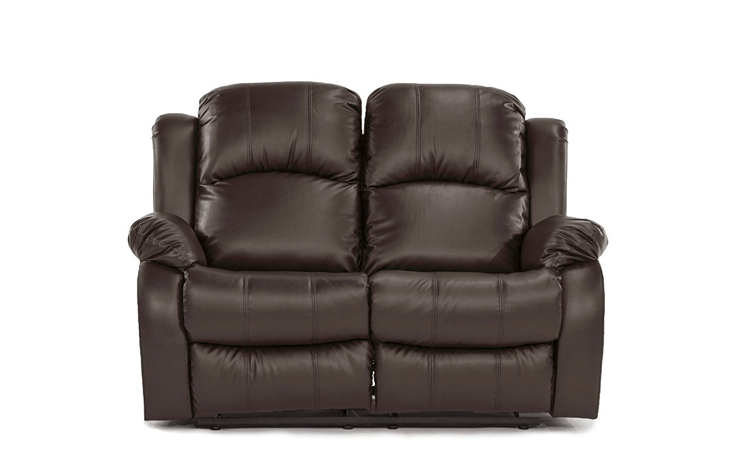 Clic And Traditional Bonded Leather Recliner Chair Love Seat Sofa Size 1 Seater 2 3 Set