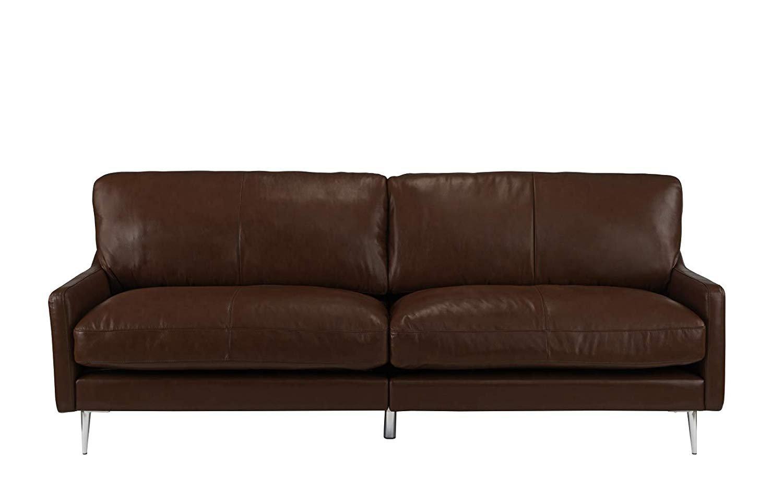 Mid Century Modern Plush Leather Match Living Room Sofa ...