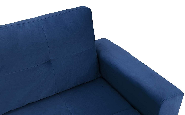 Swell Low Profile Mid Century Modern Velvet Couch Grey Club Frame Short Links Chair Design For Home Short Linksinfo