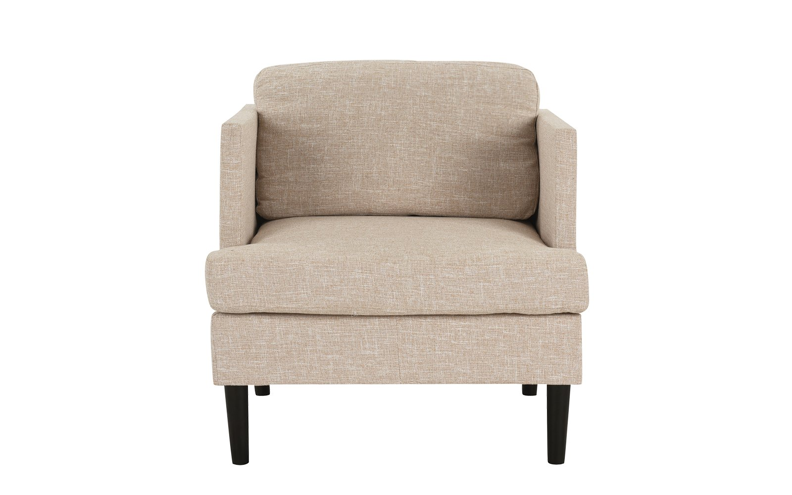Excellent Details About Beige Oatmeal Mid Century Modern Linen Fabric Armchair Living Room Accent Chair Cjindustries Chair Design For Home Cjindustriesco