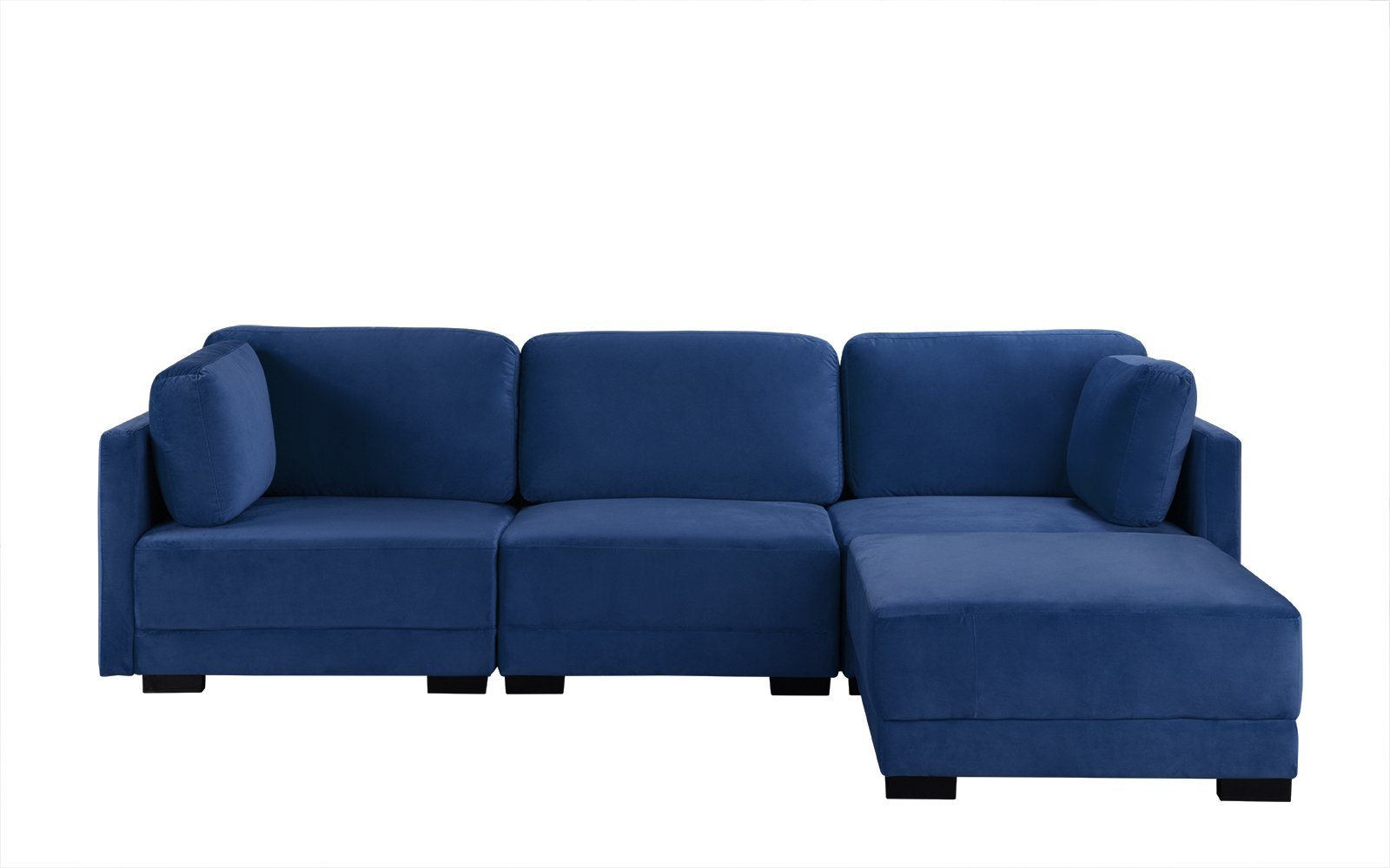 Velvet Sectional Sofa
