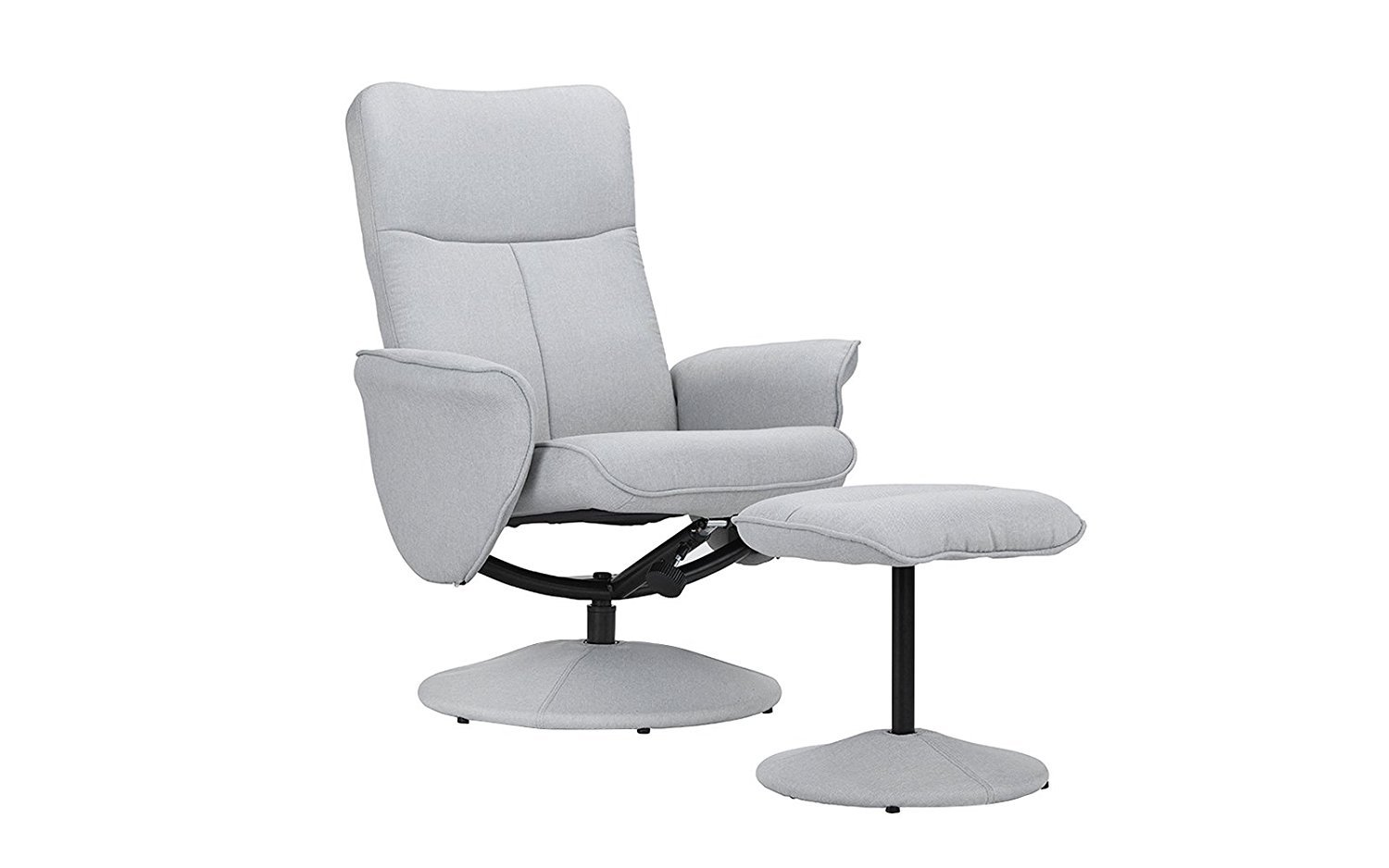 Astounding Details About Fabric Modern Swivel Office Chair Gaming Chair With Recliner And Footstool Gmtry Best Dining Table And Chair Ideas Images Gmtryco