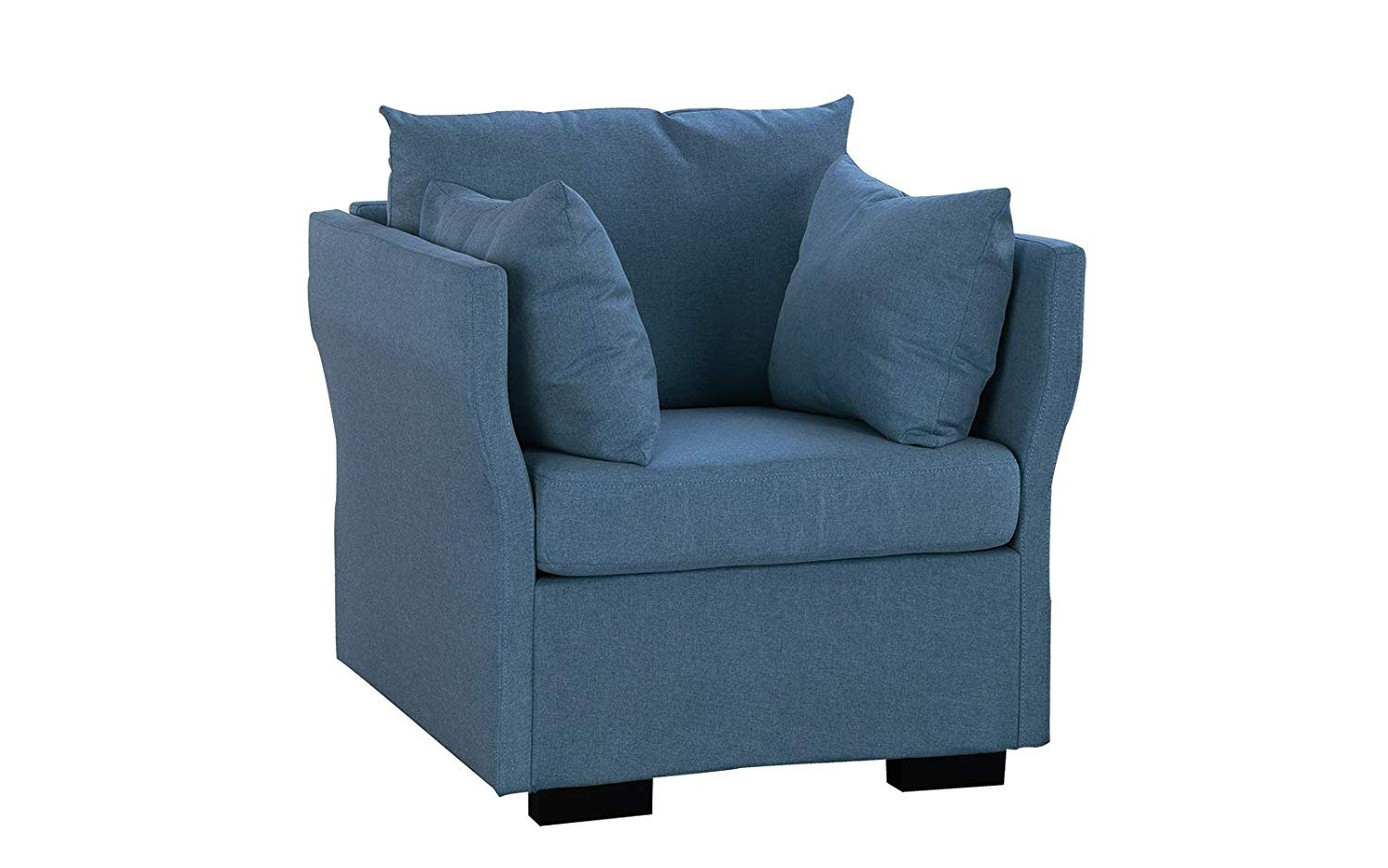 Standard Living Room Armchair Classic Living Room Fabric Accent