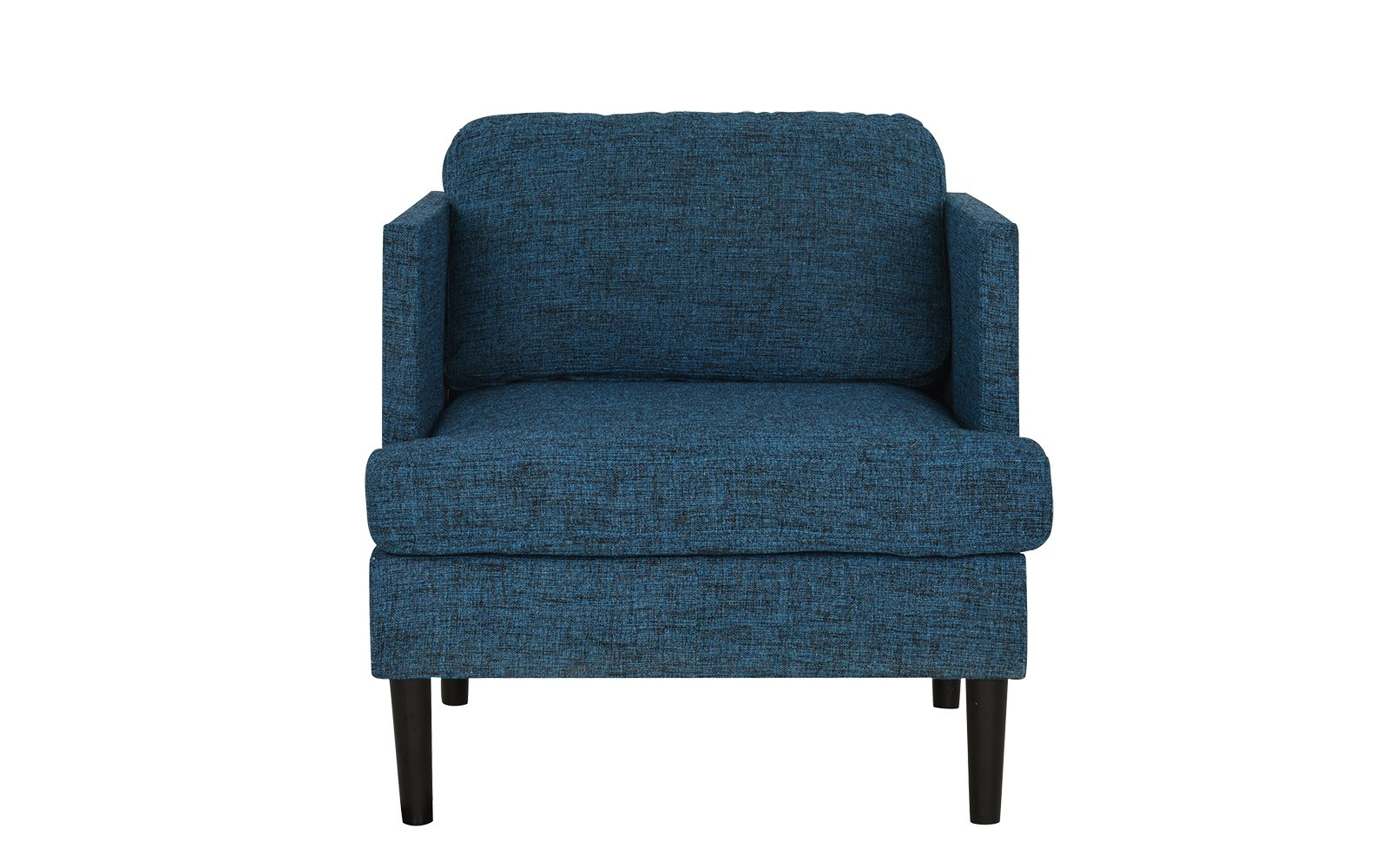Blue Modern Accent Chairs.Details About Blue Mid Century Modern Linen Fabric Armchair Living Room Accent Chair