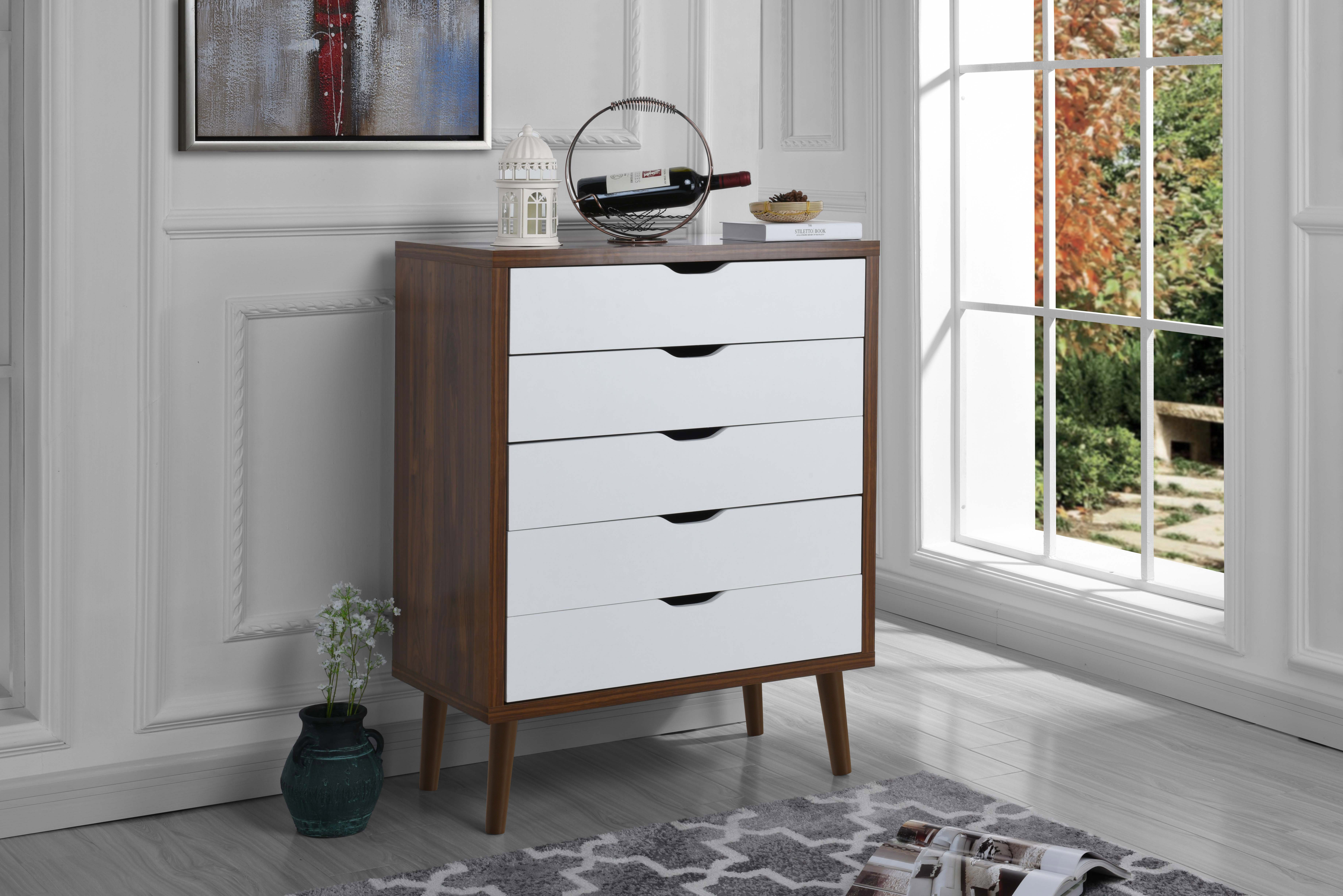 Image is loading mid century modern home decor entryway dresser chest