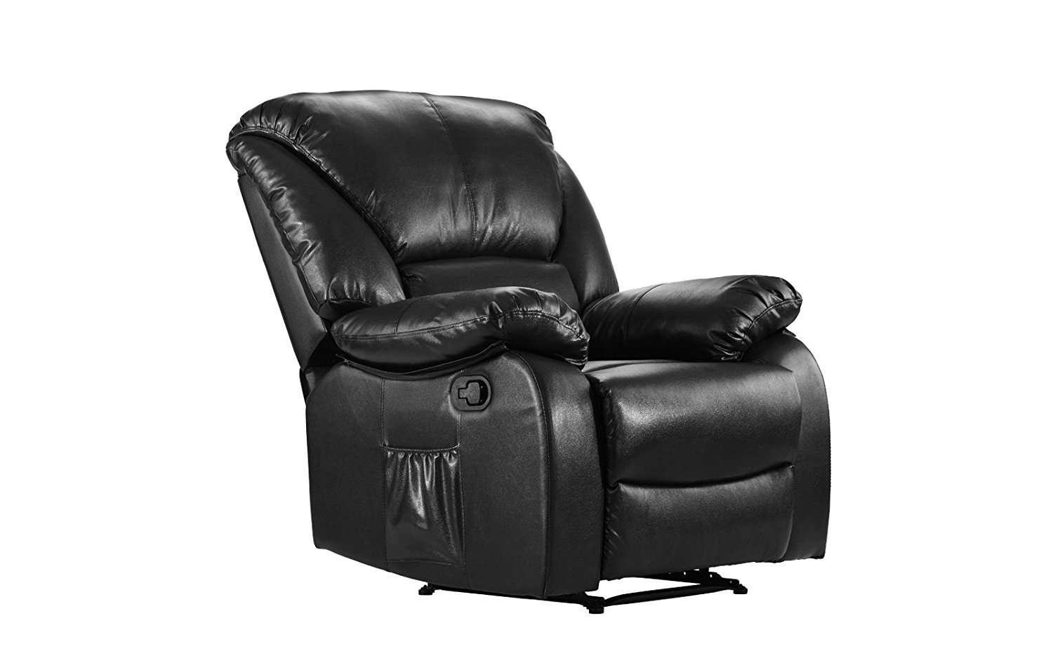 Fine Details About Full Body Massage Recliner Chair Pu Leather Reclining Massage Chair Black Ncnpc Chair Design For Home Ncnpcorg