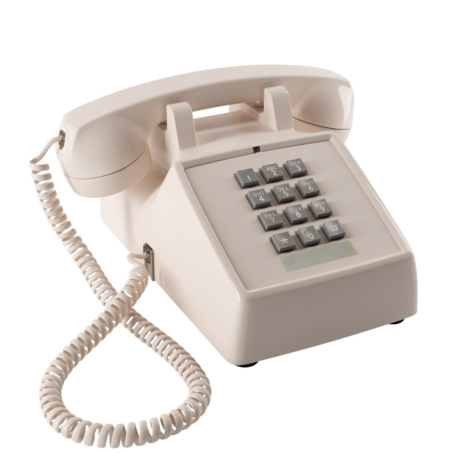 Details about Home Intuition Amplified Single Line Corded Desk Telephone  with Extra Loud
