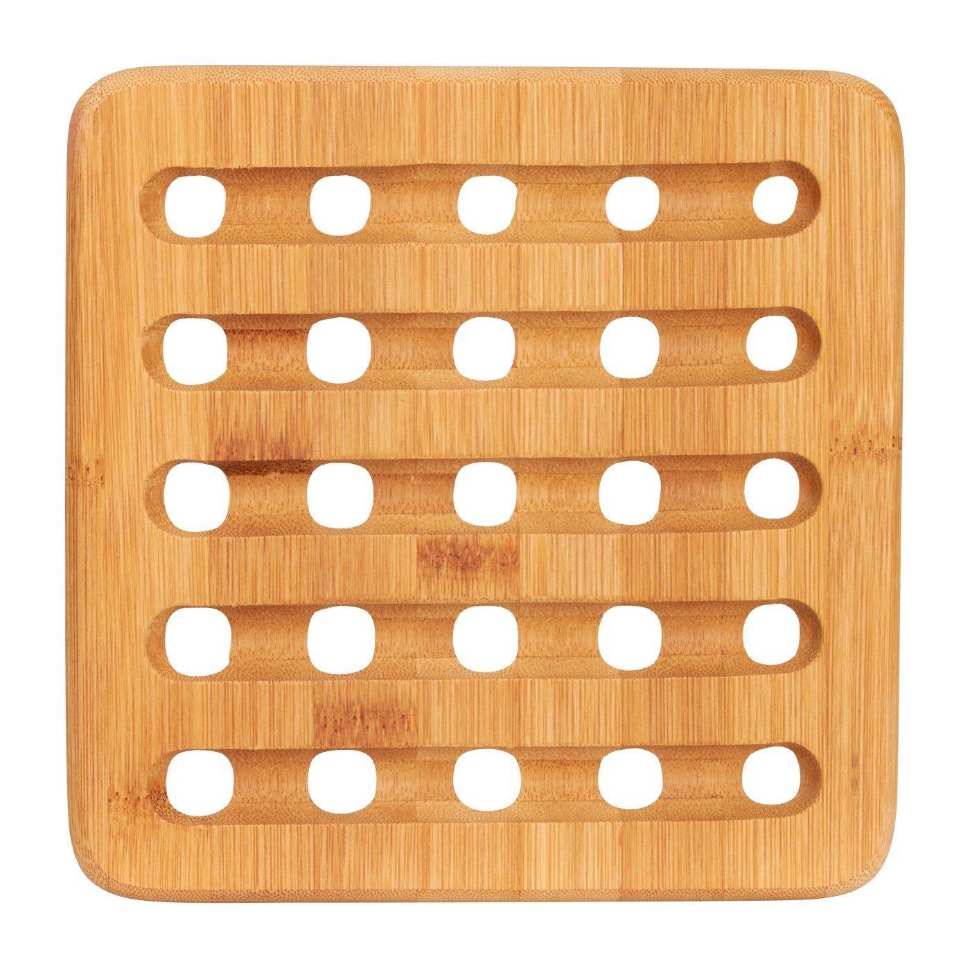 Round Bamboo Trivet Set Of 2