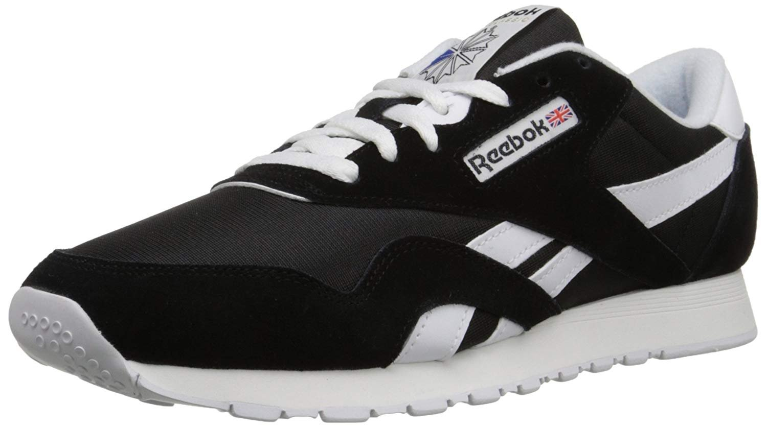 be098ca9b Image is loading Reebok-Men-039-s-CL-NYLON-Classic-Sneaker